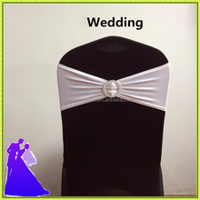 spandex band buckle & polyester banquet chair cover buckle sash