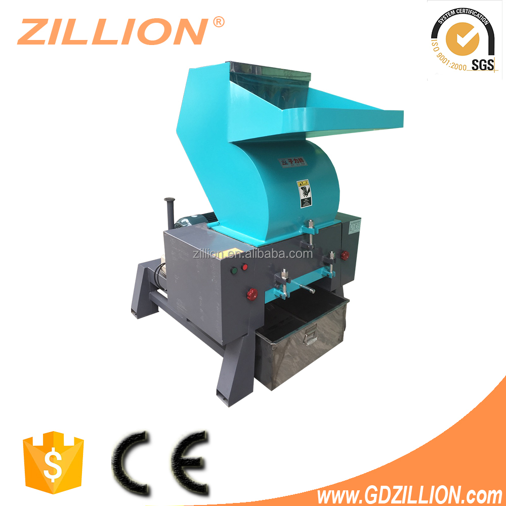 Zillion 15HP Mini Type Waste Bottle Plastic Crusher And Shredder Machine with Lower Price