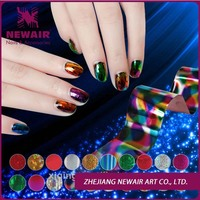 Colorful Nail Foil Sticker for Nail Tips Decoration & Glue Set Eazy DIY High Quality Hot Sale Newair Brand