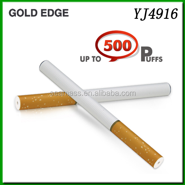 Low price Soft tip disposable e cigarette 500puffs YJ4916C