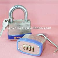 4 digit combination laminated padlock