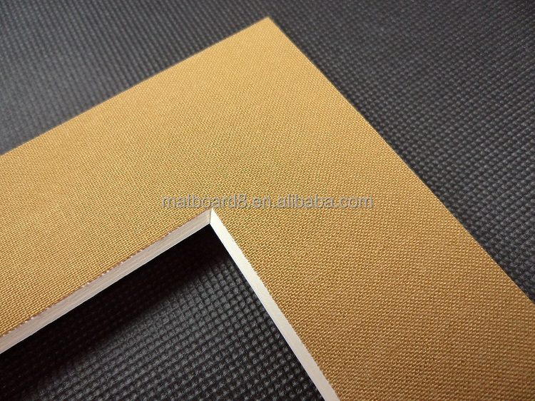 High Quality Photo Matboard With Backing Board Photo Mount