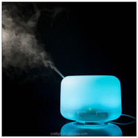 High quality home 500ml color changing lamp ultrasonic aroma source essential oils for home