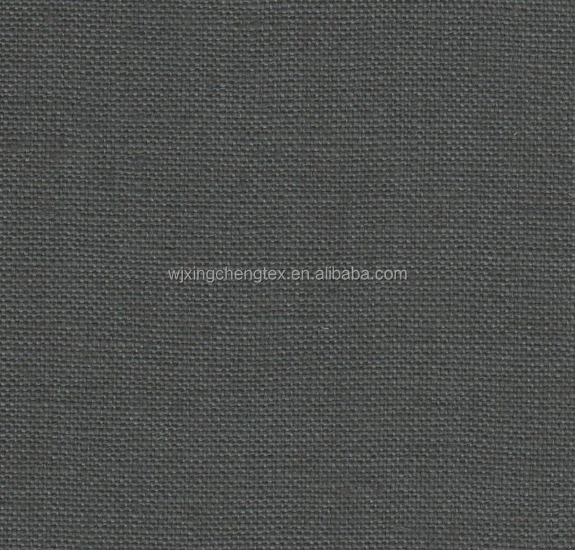 100% Polyester Dark Grey Plain Weave Children Fabric For Uniform