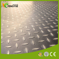Decorative Load Bearing Car PVC Garage Floor Tile