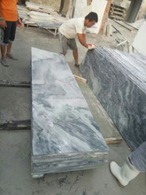 Marble Bathroom Countertops with Built in Sinks
