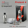 New !! Original Authentic Kangertech Kanger Protank 4 RBA Ceramic Coil Tank for dripbox 160 160w kbox 200w 120w smok h priv 220w