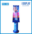 pop up paper material makeup display stand for lipstick