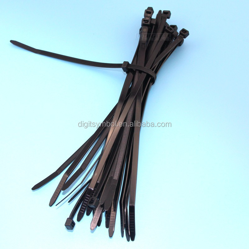 UL approved Black Color Nylon Cable <strong>Ties</strong> with size 2.5X200mm