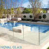 HIgh Quality 8mm 10mm Tempered Glass Pool Fencing