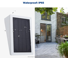 Wireless Waterproof Solar Security Motion Sensor Light for Patio, Deck, Yard, Garden, Driveway, Outside Wall