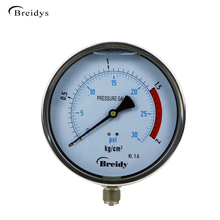 150mm Custom Gauge Oil Filled Low Pressure Gauge