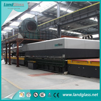 LandGlass Flat Tempered Glass Making Machine For Window Glass