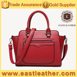 E1602 the most popular factory price handbag ladies trendy pu tote bag