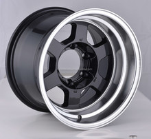 hot cheap aftermarket rims wheels for 5x139.7alloy wheels for 15X10.0 alloy wheels with POWCAN produce