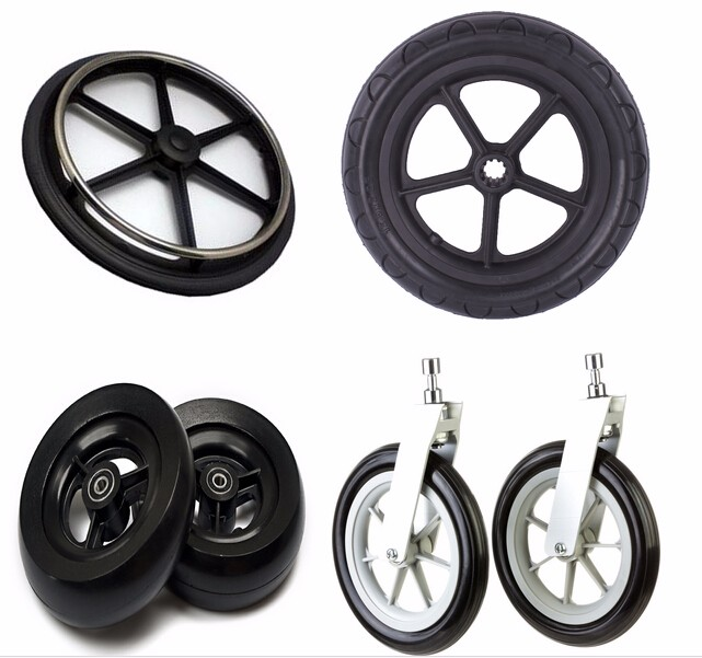 China OEM high quality foam filled tyre baby trolley tyre