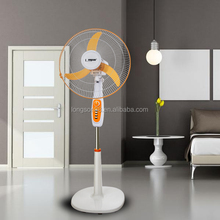 new 2017 inventions 18 inch electric solar stand fan 120mm fan