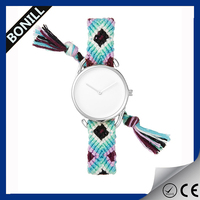 Hot sale lady watch interchangeable straps,own logo watch hand