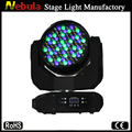 91pcs 3w RGBW/RGBWA led wash moving head light with zoom