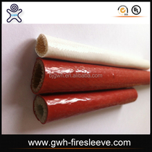 Continuous fire cable protection sleeve