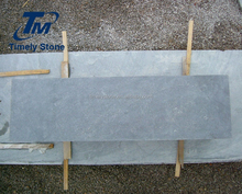 Chinese bush hammered blue stone limestone lump bluestone pavers