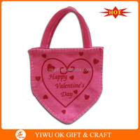 Factory sale non-woven pink t valentine's day gifts