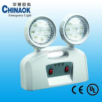 Ck-7002 Two Head Spot Light Rechargeable Led Emergency Light