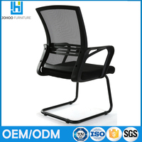 Modern office used waiting room office mesh fabric guest chair visitor chair