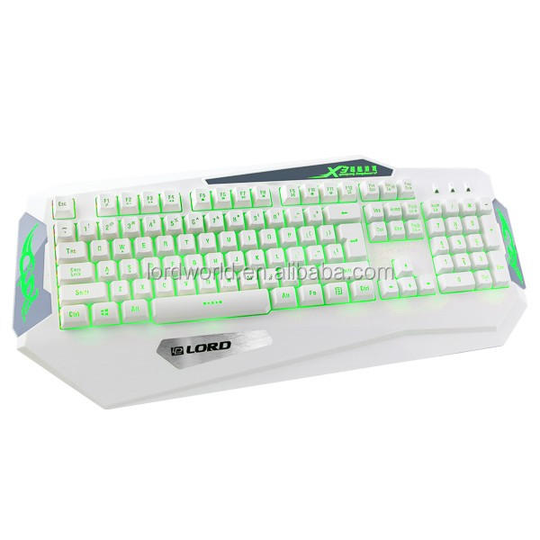 Shenzhen manufactture stock backlight wired computer gaming keyboard