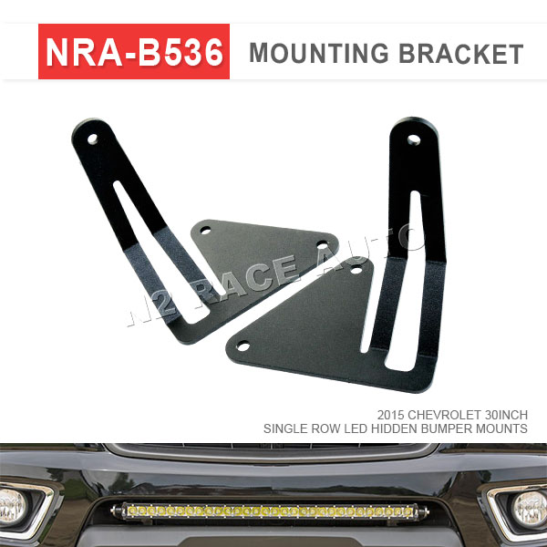 Factory Price Chevrolet Spare Parts 30 INCH SINGLE ROW LED HIDDEN BUMPER MOUNTS for 2015 CHEVROLET