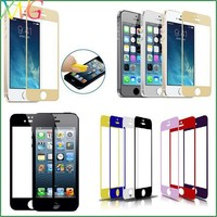 2014 Newest Colorful Thickness customize color screen Film For iPhone 5 5C 5S color skin guard