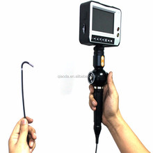 2016 new industrial endoscope 4ways articulating video borescope with lens 3mm