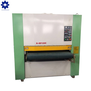Manufacturer of wide belt sander R-R-RP1300 wide belt sander machine for sale