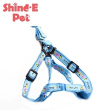 Blue Pet Harness Collar Cute Puppy Cat Jacket Leash Cothes Harness