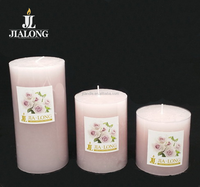 pillar candle scented with fragrance aroma candles aromatherapy