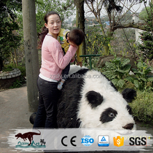 Amusement animal lovely kiddie panda ride