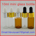 3ml 5ml glass bottle with silicone dropper
