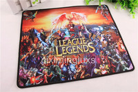Bordered Gaming Mouse Pad with Rubber Material