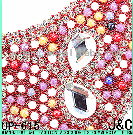 new arrival colorful rhinestone sandal adhesive beads sheets for uppers