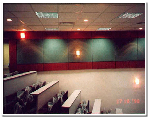 Acoustic Wall Systems - Hall