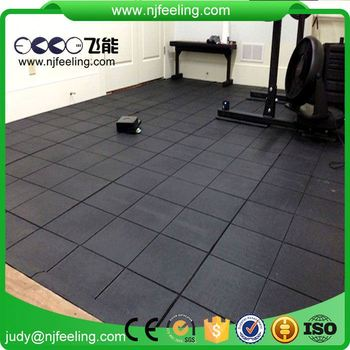 Indoor Malaysia Outdoor Playground Anti-Slip Gym Rubber Floor Mat