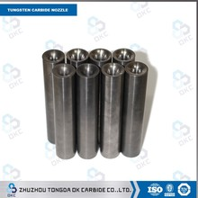 long service high abrasive tungsten carbide cutting nozzles/water jet nozzle/sand tube