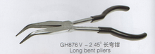GH876V-2 LONG BENT PLIER,jewelry holding cutter,diamond bent clamp