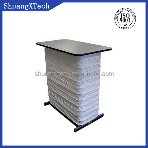 custom manufacturing lift table accordion cover