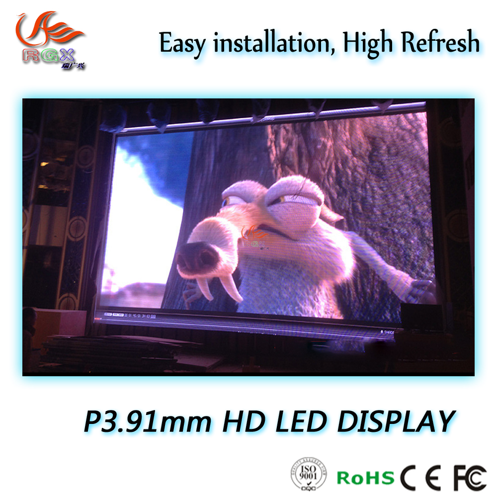 Shanghai RGX full color video External led panel P3.91 with high definition