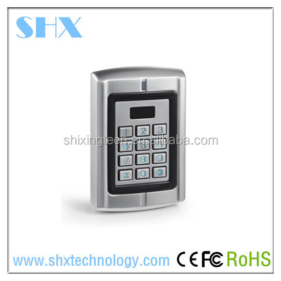 IP65 Waterproof Wiegand input&output standalone rfid door access control keypad device