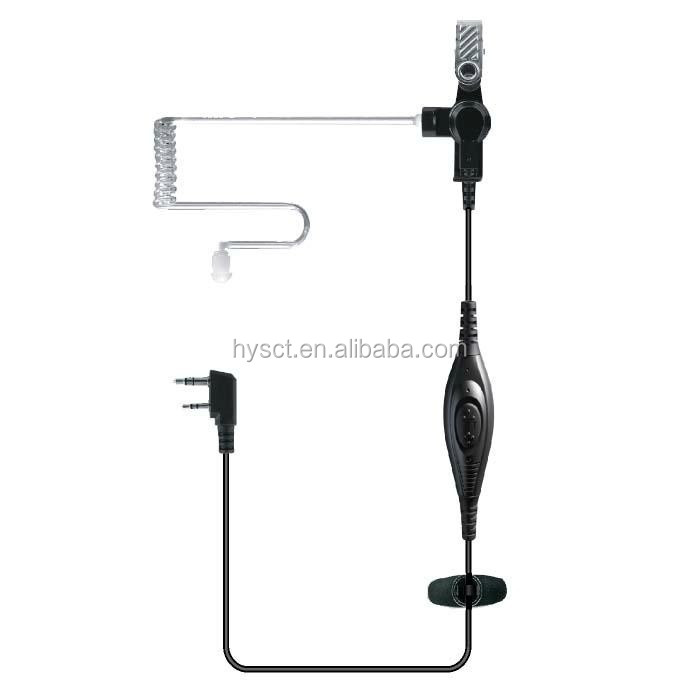 New design PTT Air Tube Earphone For Walkie Talkie TC-P01A0
