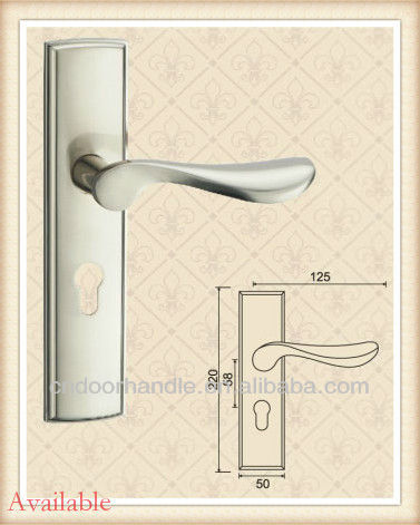 Wholesale Royal Door Handles for interior and exterior mechanical lockset