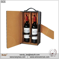 Portable Wooden Wine Boxes Used for Sale