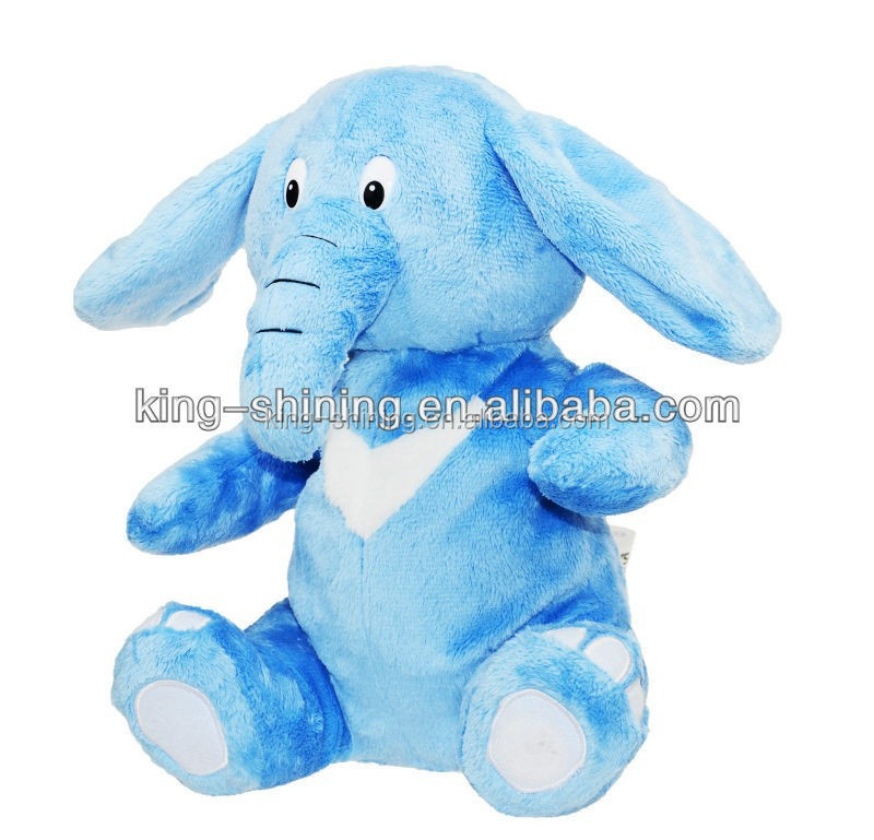 singing and talking music elephant stuffed toy